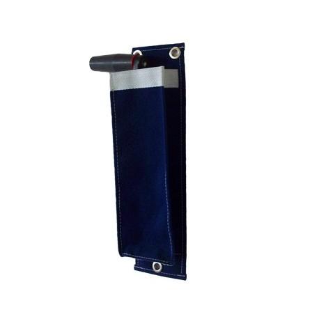 Winch handle pocket