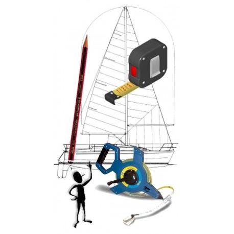 Measurement taking - 2 sails or more