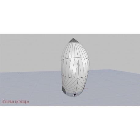Symetrical S3 - leech 10.50m - 58m²