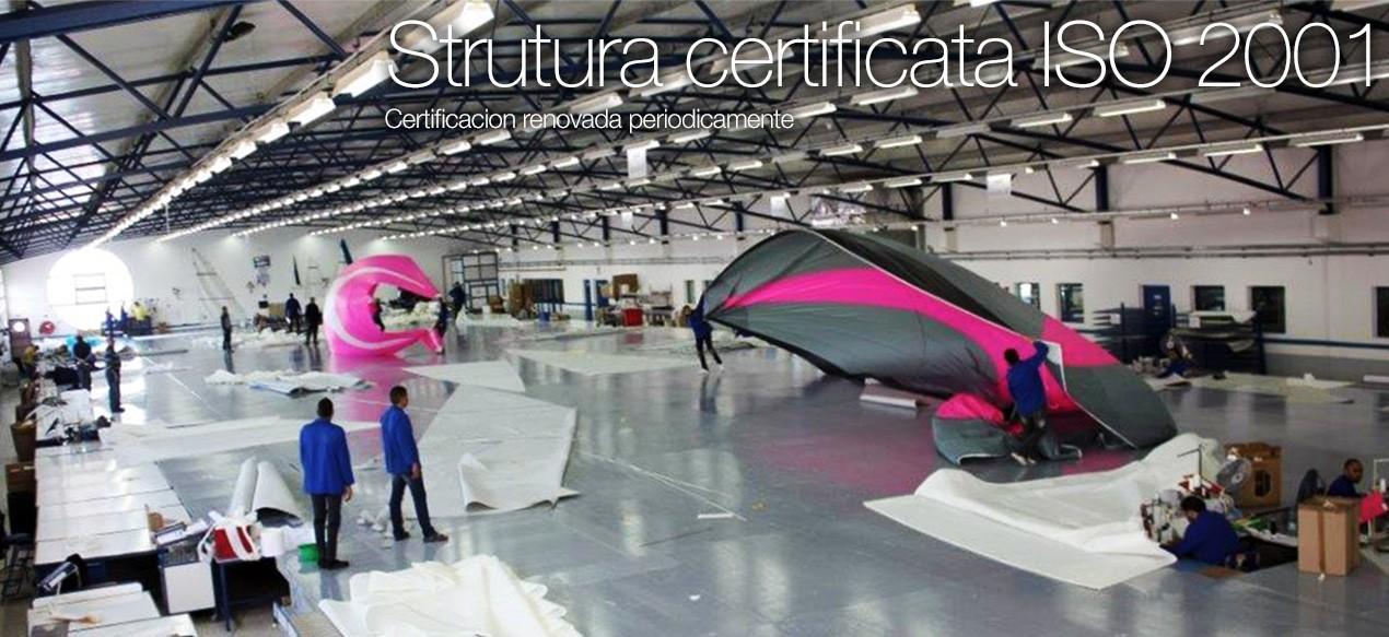 Strutura certificata ISO 2001