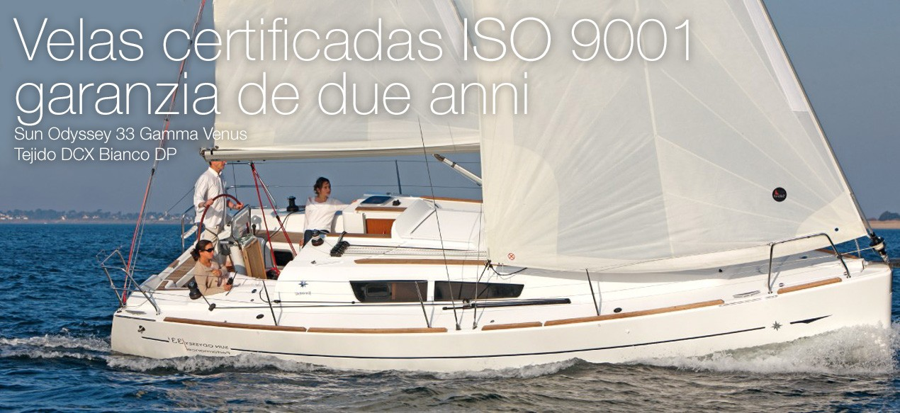Velas certificadas ISO 9001 garanzia de due anni.