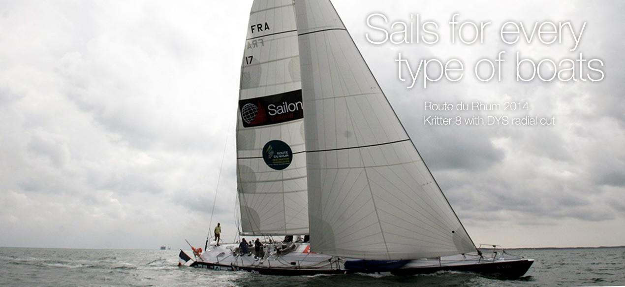 Sails for every type of boats